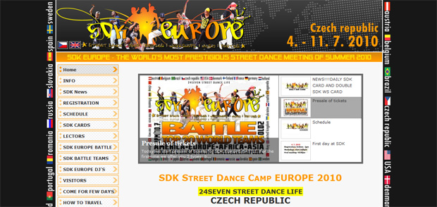 SDK Europe - International street dance meeting